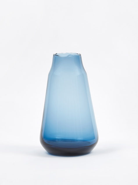 Argus Glass Vase - Crown Blue