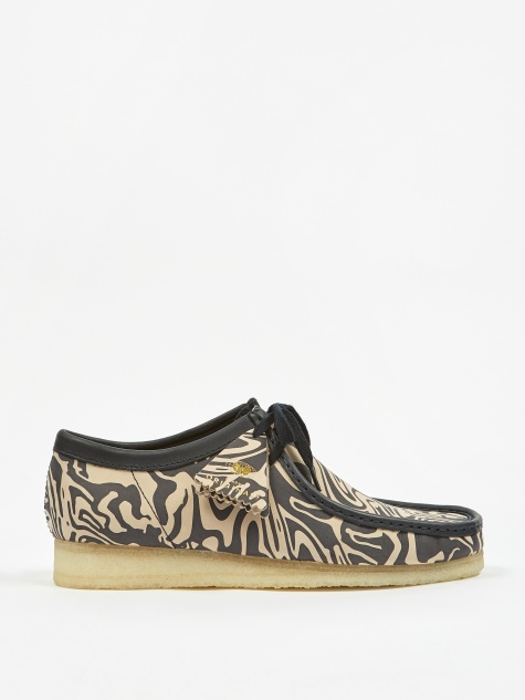 x Wu Wear Wallabee Lo - Navy Multi