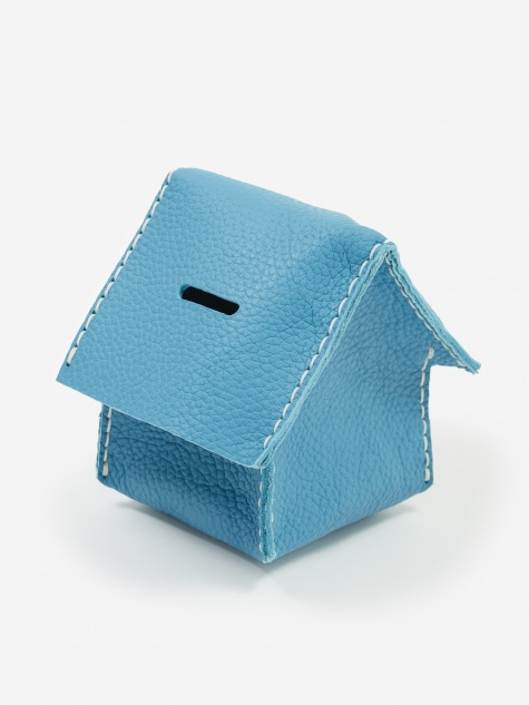 Home Coin Bank - Blue