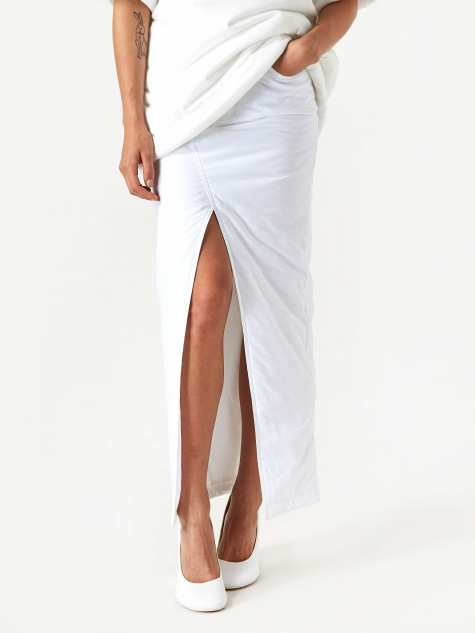 Studio Padded Skirt - White