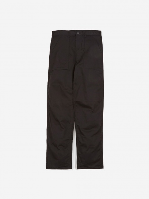 OG107 4 Pocket Fatigue Trousers 8.5oz - Black Twill