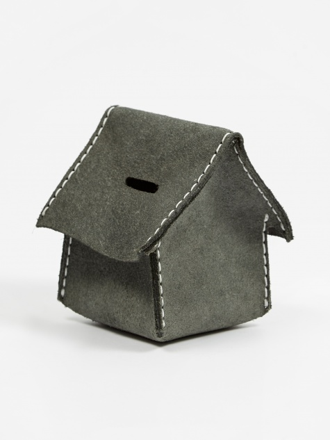 Home Coin Bank  - Charcoal