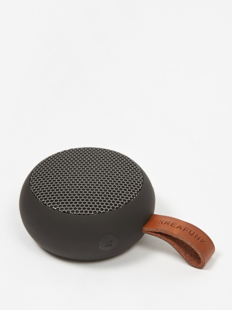 aGO Bluetooth Speaker - Black Edition/Gun Metal