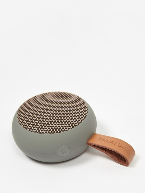 aGO Bluetooth Speaker - Cool Grey/Rose Gold
