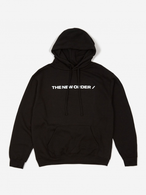 Basic Logo Hooded Sweatshirt - Black