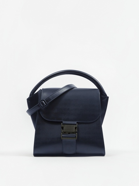Zucca Belted Bag Medium - Navy