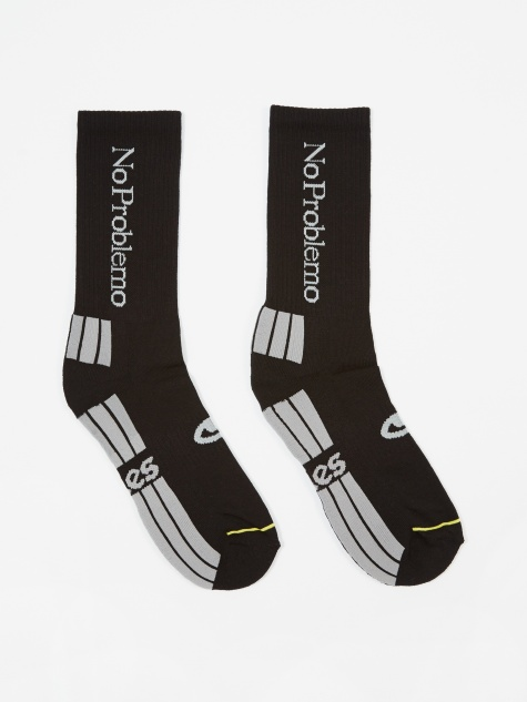 No Problemo Socks - Black