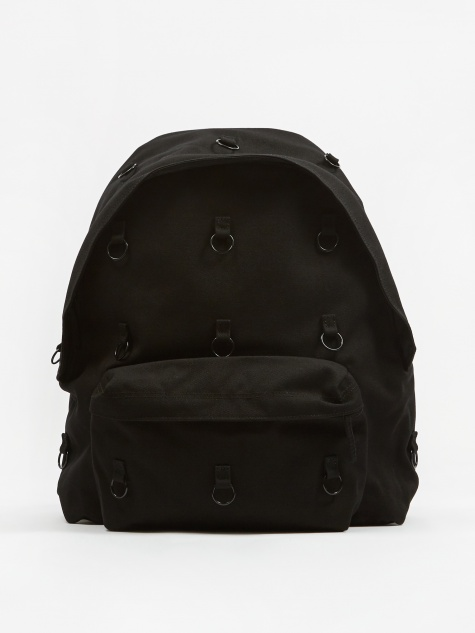 x Raf Simons Padded Loop Backpack - Black