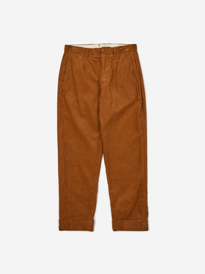 Engineered Garments Andover Corduroy Pant - Chestnut (Image 1)