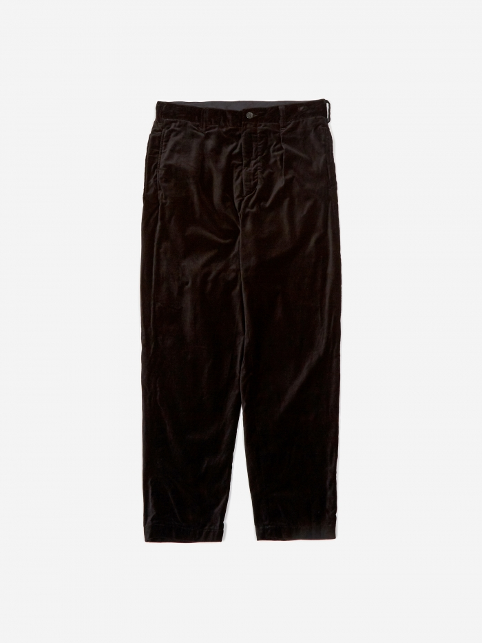 Engineered Garments Carlyle Pant - Black (Image 1)