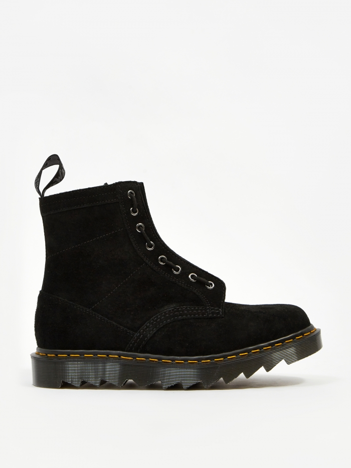 Dr. Martens x Haven 1460 - Black Soft Buck (Image 1)