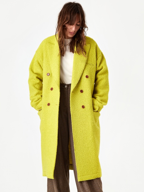 Jejia Katherine Coat - Yellow
