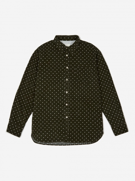Brook Shirt - Spot Cord Olive