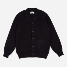 Universal Works Vince Cardigan - Navy