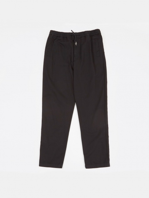 Drawcord Trousers - Black
