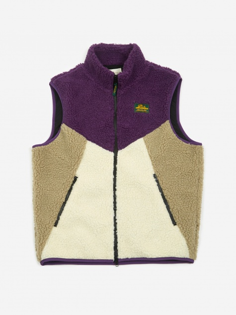 Polar Fleece Vest - Royalty Purple Combo