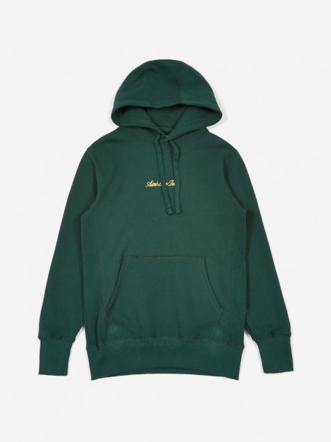 20oz Terry Logo Hoodie - Botanical Green