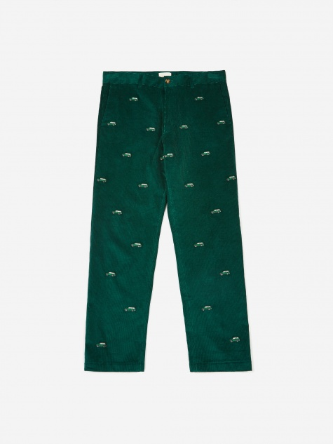 Corduroy Hawk Pant - Botanical Green