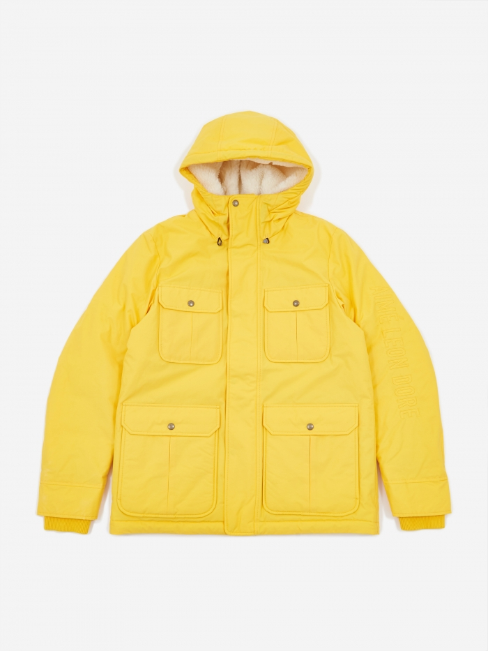 Aime Leon Dore Woolrich Mountain Jacket - Sunflower Yellow (Image 1)