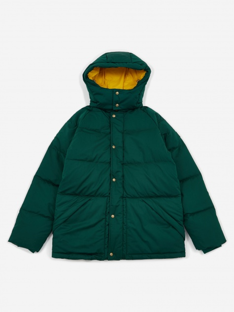 Woolrich Down Hooded Coat - Botanical Green