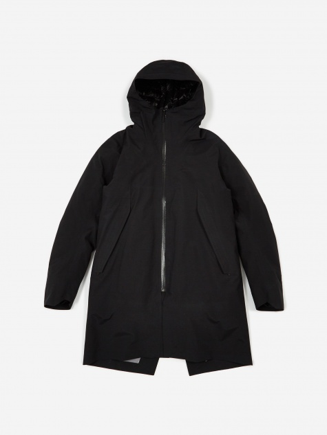 Monitor Down Coat - Black