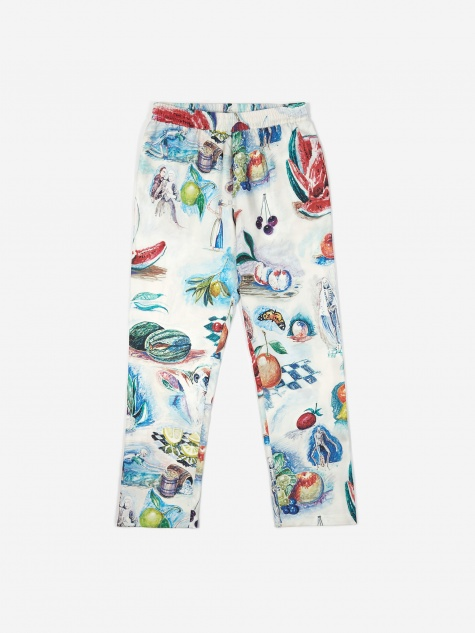 Toast Silk Pant - Multi