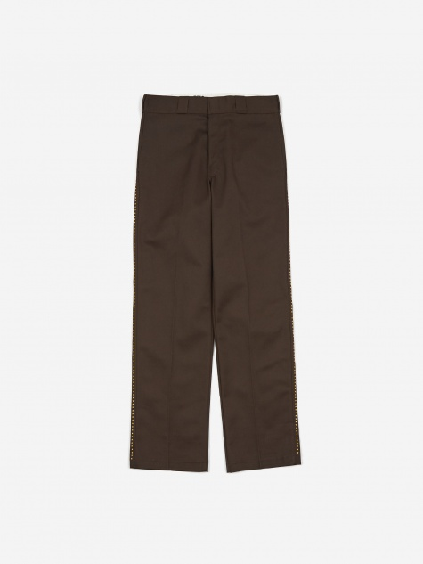 x Goodhood Original 874 Work Trouser - Brown/Yellow Star