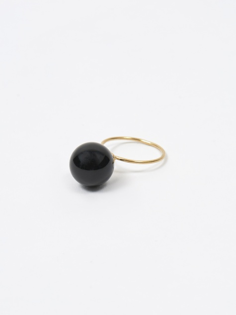 Beatriz Palacios Onyx Ring 12mm - Black Onyx