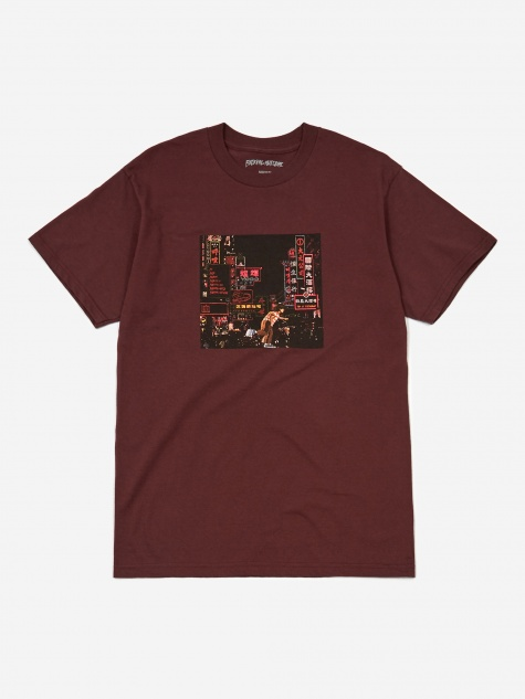 Neon Nights Shortsleeve T-Shirt - Maroon