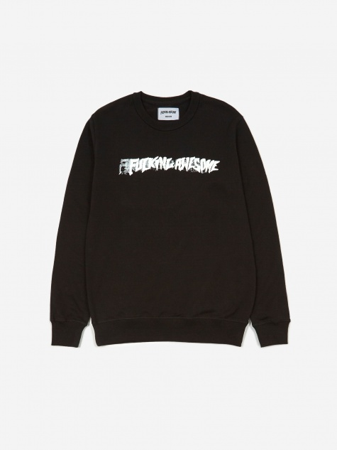 Stamp Crewneck - Black
