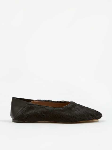 Alumnae Step Down Slipper - Wolf Black