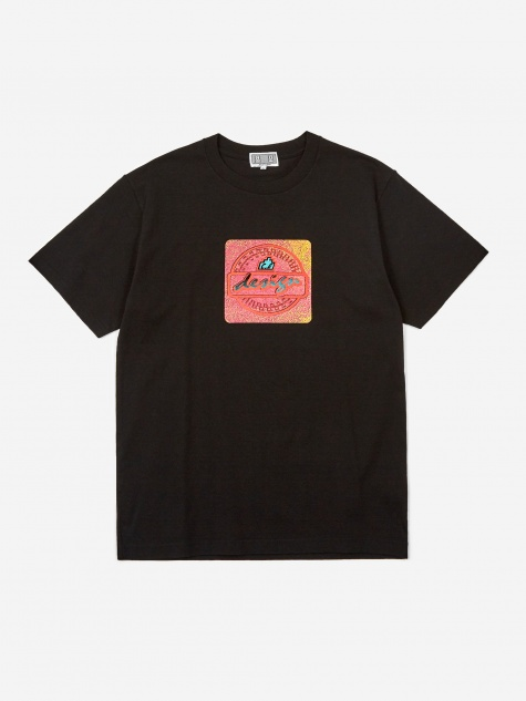 C.E Cav Empt Design lighter Shortsleeve T-Shirt - Black