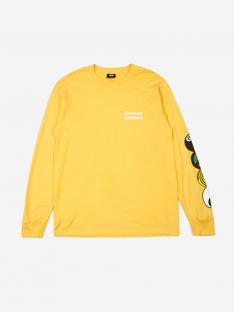 Harmony Longsleeve T-Shirt - Orange