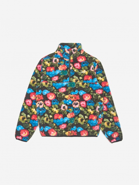 Basic Polar Fleece Jacket - Floral