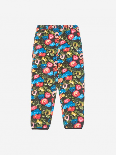 Basic Polar Fleece Pant - Floral
