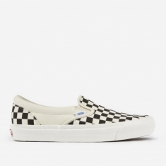 Vans Vault OG Classic Slip-On LX - Black/White Checkerboard