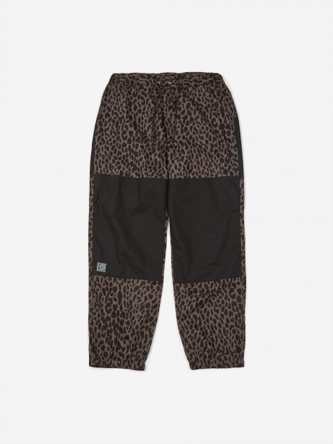 Leopard Easy Pant - Grey/Black