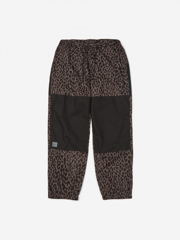 Flagstuff Leopard Easy Pant - Grey/Black (Image 1)