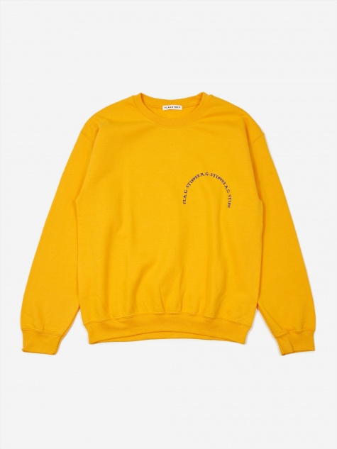 Circle Sweatshirt - Gold