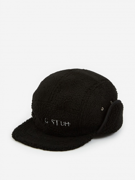 Fleece Camp Cap - Black