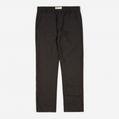 Universal Works Aston Pant Flannel - Charcoal