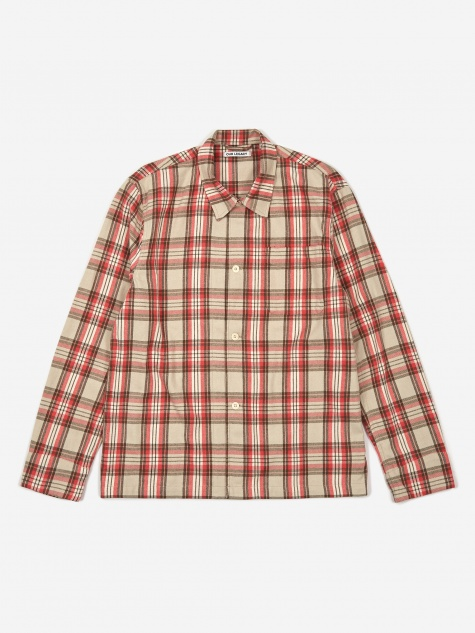 Box Shirt - Pink Check