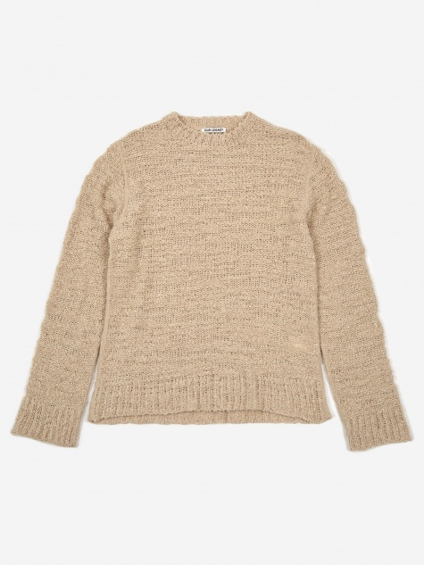 Base Roundneck Jumper - Raw Wool Mix