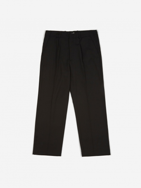 Borrowed Chino - Black Herringbone