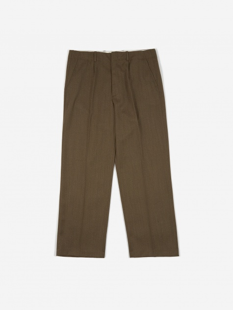 Borrowed Chino - Olive Hunting Wool