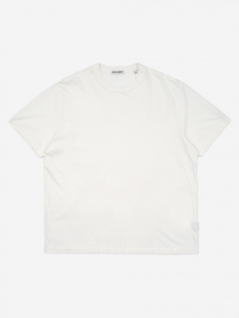 New Box T-Shirt  - White Clean
