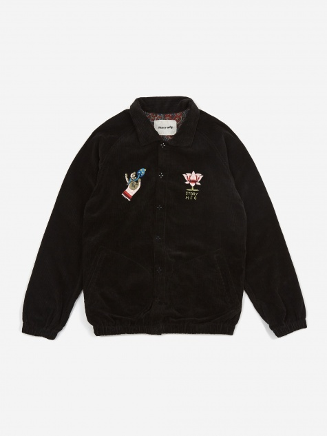 Pub Jacket - Black Mudra
