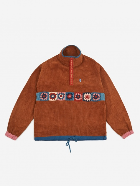 Polite Pullover Fat Corduroy Jacket - Bark
