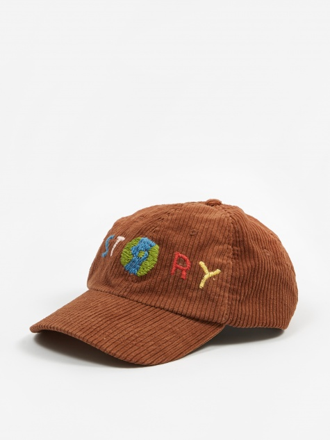 Fat Corduroy Heady Cap - Brown