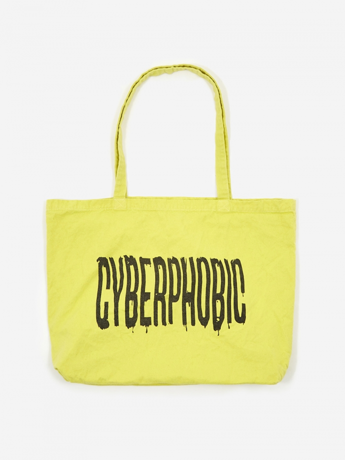 Goods By Goodhood Cyberphobic Tote Bag - Lime (Image 1)